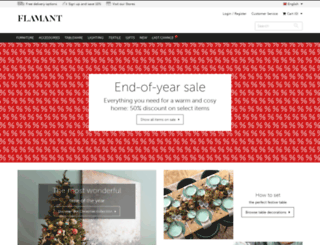 shop.flamant.com screenshot