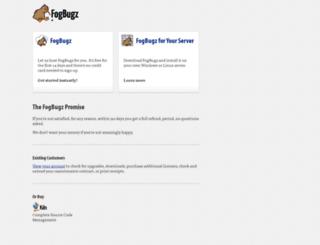 shop.fogcreek.com screenshot