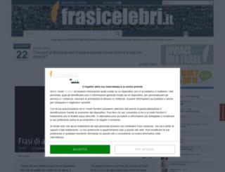 shop.frasicelebri.it screenshot