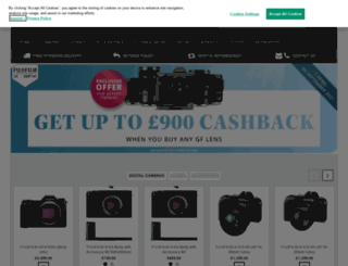 shop.fujifilm.co.uk screenshot