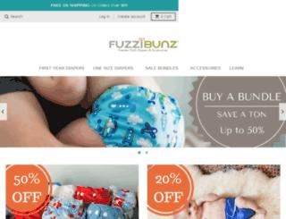 shop.fuzzibunz.com screenshot