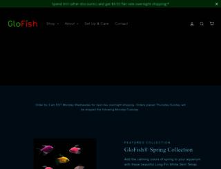 shop.glofish.com screenshot