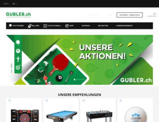 shop.gubler.ch screenshot