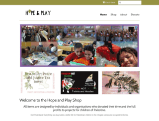 shop.hopeandplay.org screenshot