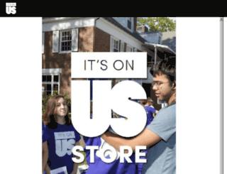 shop.itsonus.org screenshot