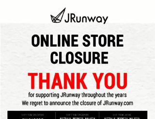 shop.jrunway.com screenshot