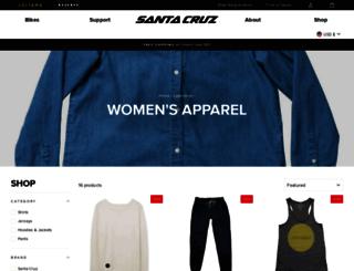 shop.julianabicycles.com screenshot