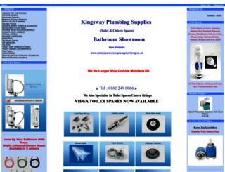 shop.kingswayplumbing.co.uk screenshot
