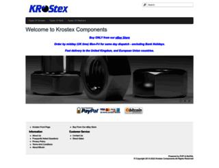 shop.krostex.com screenshot