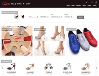 shop.madamepivot.com screenshot
