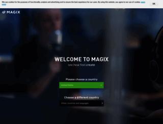 shop.magix.com screenshot