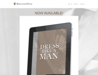 shop.masculine-style.com screenshot
