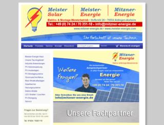 shop.meister-solar.de screenshot