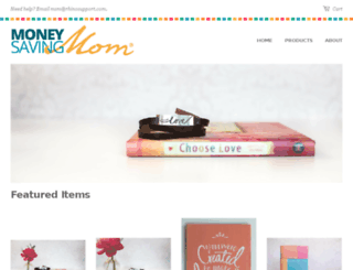 shop.moneysavingmom.com screenshot