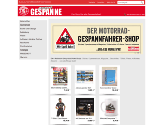 shop.motorrad-gespanne.de screenshot