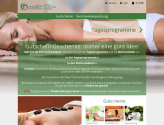 shop.naturthermetemplin.de screenshot