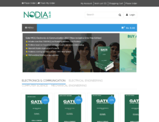 shop.nodia.co.in screenshot
