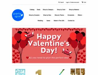shop.partyspin.com screenshot