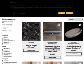 shop.pietredirapolano.com screenshot