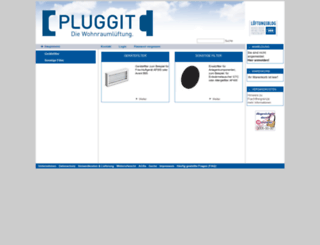 shop.pluggit.com screenshot