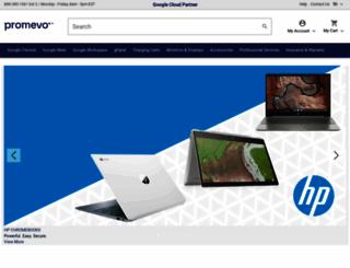 shop.promevo.com screenshot
