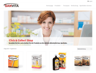 shop.sanvita.co.at screenshot