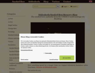 shop.schlenkerla.de screenshot