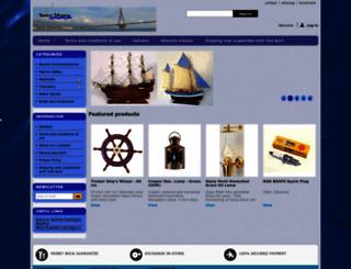 shop.sirius-marine.com screenshot