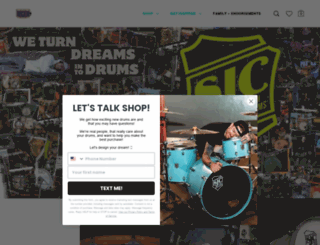 shop.sjcdrums.com screenshot