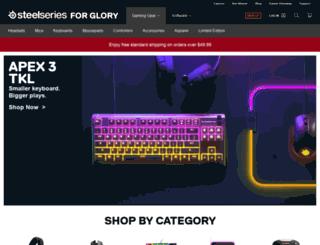 shop.steelseries.com screenshot
