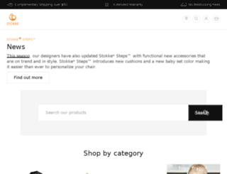 shop.stokke.com screenshot