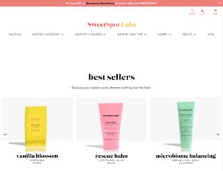 shop.sweetspotlabs.com screenshot