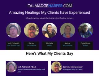 shop.talmadgeharper.com screenshot