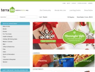 shop.terra20.com screenshot