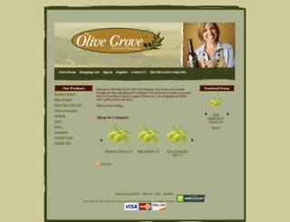 shop.theolivegroveoliveoil.com screenshot