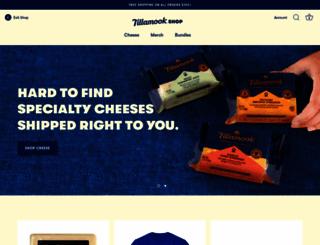 shop.tillamook.com screenshot