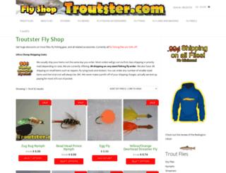 shop.troutster.com screenshot