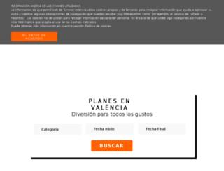 shop.turisvalencia.es screenshot