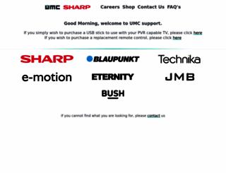 shop.umc-uk.co.uk screenshot