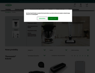 shop.vorwerk.pl screenshot