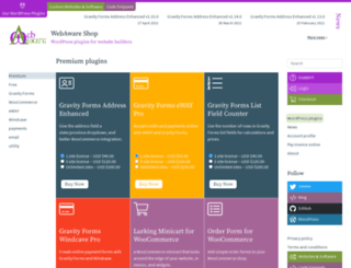 shop.webaware.com.au screenshot