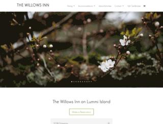 shop.willows-inn.com screenshot