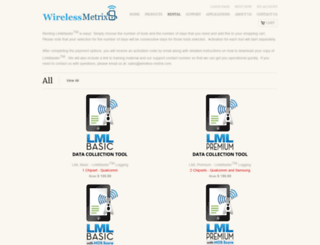 shop.wireless-metrix.com screenshot