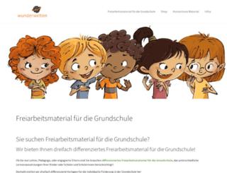 shop.wunderwelten.net screenshot