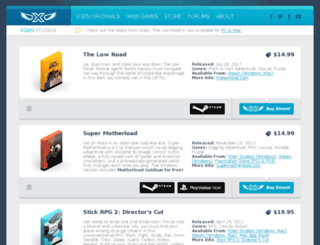shop.xgenstudios.com screenshot
