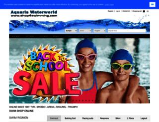 shop4swimming.eu screenshot