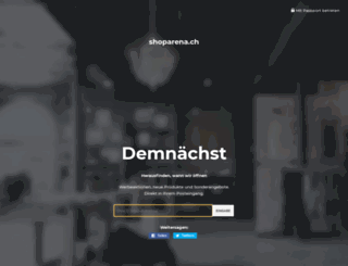 shoparena.ch screenshot