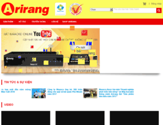 shoparirang.com screenshot