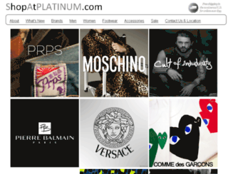 shopatplatinum.com screenshot