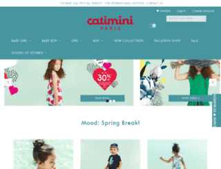 shopcatimini.com screenshot